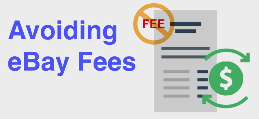 How to avoid PayPal fees on eBay?